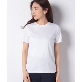 【SALE(伊勢丹)】<LA JOCONDE> 【洗える】エンブロイダリーTシャツ シロ 【三越・伊勢丹/公式】