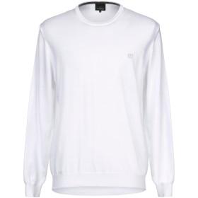 《セール開催中》HENRY COTTON'S メンズ プルオーバー ホワイト XL コットン 100%