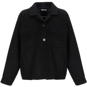 《期間限定セール開催中!》P.A.R.O.S.H. レディース コート ブラック XS ウール 100%