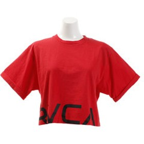【SALE開催中】【Super Sports XEBIO & mall店:トップス】【オンライン特価】CRPD RVCA 半袖Tシャツ AJ043201 RED