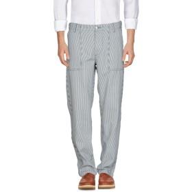 《セール開催中》MAISON KITSUN メンズ パンツ ダークブルー 33 コットン 100%