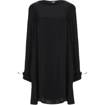 《セール開催中》LOVE MOSCHINO レディース ミニワンピース&ドレス ブラック 40 レーヨン 100%