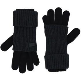 《セール開催中》EMPORIO ARMANI メンズ 手袋 スチールグレー M ウール 50% / アクリル 50%