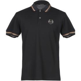 《期間限定セール開催中!》ROBERTO CAVALLI メンズ ポロシャツ ブラック S コットン 100%