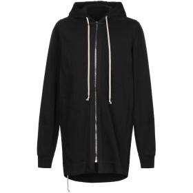 《期間限定セール開催中!》RICK OWENS メンズ スウェットシャツ ブラック L コットン 100%