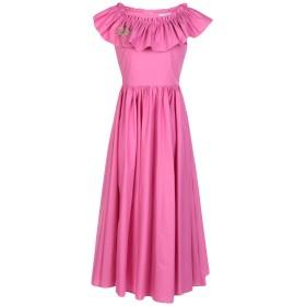 《期間限定 セール開催中》VIVETTA レディース 7分丈ワンピース・ドレス フューシャ 36 コットン 97% / ポリウレタン 3%