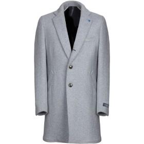 《期間限定 セール開催中》TOMBOLINI メンズ コート グレー 50 ウール 79% / ナイロン 21%