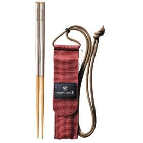 snow peak スノーピーク 和武器L SCT-111 カトラリー 箸 アウトドア 釣り 旅行用品 アウトドアギア