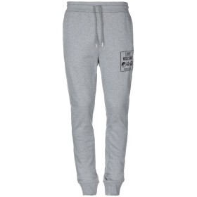 《セール開催中》LOVE MOSCHINO メンズ パンツ グレー M コットン 100% / ポリウレタン