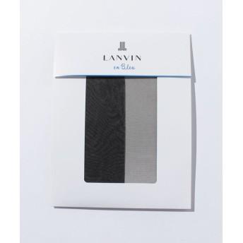 ランバンオンブルー(レディスソックス) 交編パンスト(M-L) レディース ソワレ M-L 【LANVIN en Bleu(Ladies Socks)】