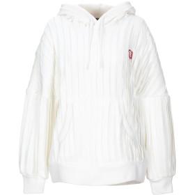 《期間限定 セール開催中》UNDERCOVER レディース スウェットシャツ ホワイト 2 コットン 70% / ポリエステル 30%