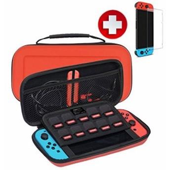 Nintendo Switch ケース 任天堂スイッチ ケース 軽量 耐衝撃 耐摩擦 ニンテンドースイッチ ケース 防水 収納バッグ キャリングケース