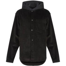 《期間限定 セール開催中》ALEXANDER WANG メンズ シャツ ブラック XS コットン 100%