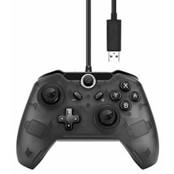 Lavuky XQ04 USB Switch コントローラー Nintendo Switch 対応 有線 コントローラー 振動機能付き ニンテンド ス