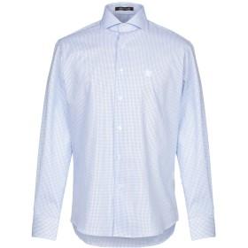 《9/20まで! 限定セール開催中》ROBERTO CAVALLI メンズ シャツ アジュールブルー 39 コットン 100%
