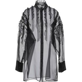 《期間限定セール開催中!》VALENTINO レディース シャツ ブラック 40 シルク 100%