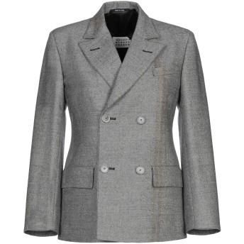 《セール開催中》MAISON MARGIELA レディース テーラードジャケット グレー 42 ウール 100%