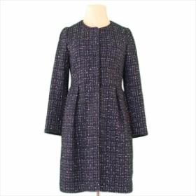 ジュエルチェンジズ Jewel Changes コート 服 上着 服 ノーカラー アウター レディース ツィード 【中古】 T12565