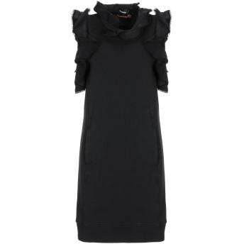 《セール開催中》DSQUARED2 レディース ミニワンピース&ドレス ブラック XS コットン 100% / ポリウレタン