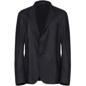 《期間限定 セール開催中》EMPORIO ARMANI メンズ テーラードジャケット ダークブルー 54 バージンウール 100%