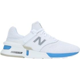 《期間限定セール開催中!》NEW BALANCE メンズ スニーカー&テニスシューズ(ローカット) ホワイト 7.5 革 / 紡績繊維 997