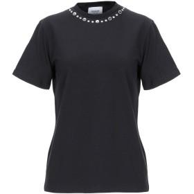 《セール開催中》DONDUP レディース T シャツ ブラック XS コットン 94% / ポリウレタン 6%