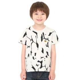 【グラニフ:トップス】キッズTシャツ/エレキングコスチューム(ウルトラマンショートスリーブティーB)