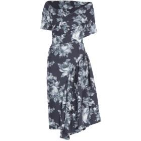 《セール開催中》MICHAEL KORS COLLECTION レディース 7分丈ワンピース・ドレス ブラック 2 ウール 75% / シルク 25%