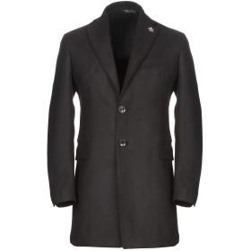 《期間限定 セール開催中》TAKESHY KUROSAWA メンズ コート ブラック 44 ポリエステル 88% / レーヨン 10% / ポリウレタン 2%