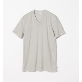 【トゥモローランド/TOMORROWLAND】 コットン VネックTシャツ MLJ3352