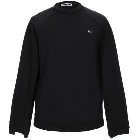 《期間限定セール開催中!》McQ Alexander McQueen メンズ スウェットシャツ ブラック XS コットン 100% / ポリウレタン