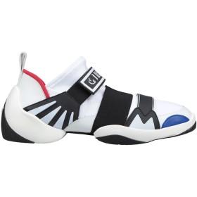 《期間限定セール開催中!》GIUSEPPE ZANOTTI メンズ スニーカー&テニスシューズ(ローカット) ホワイト 39 紡績繊維 / 革