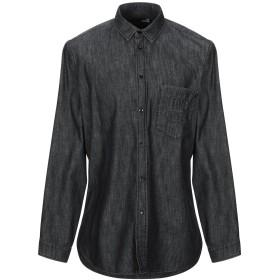 《9/20まで! 限定セール開催中》LOVE MOSCHINO メンズ デニムシャツ ブラック XS コットン 100%