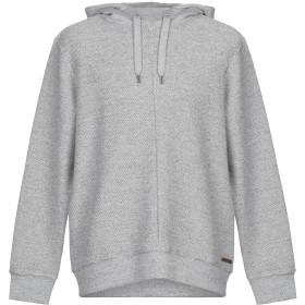 《期間限定セール開催中!》GARCIA メンズ スウェットシャツ グレー XL コットン 89% / ポリエステル 11%