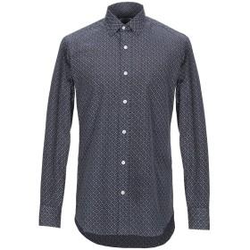《期間限定セール開催中!》SALVATORE PICCOLO メンズ シャツ ダークブルー 39 コットン 100%