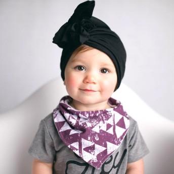 ベビー帽子 - MB2 BABY フリル ビーニー キャップ ターバン 子供服 ニット帽 CAP 男の子 女の子 男児 女児 赤ちゃん キッズ こども服韓国子供服 ベビー 帽子