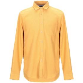 《期間限定セール開催中!》PORTUGUESE FLANNEL メンズ シャツ オークル L コットン 100%