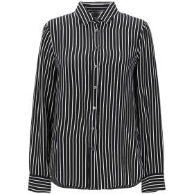 《セール開催中》ZANETTI 1965 レディース シャツ ブラック 44 レーヨン 100%
