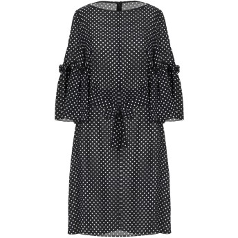 《セール開催中》MICHAEL KORS COLLECTION レディース ミニワンピース&ドレス ブラック 2 シルク 100%