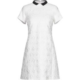 《9/20まで! 限定セール開催中》GIAMBA レディース ミニワンピース&ドレス ホワイト S コットン 60% / アクリル 40%