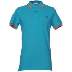 《セール開催中》ICEBERG メンズ ポロシャツ ターコイズブルー S コットン 100%