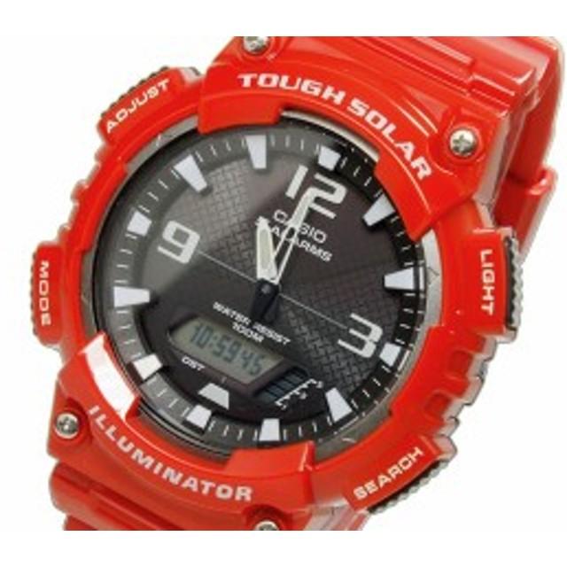 9c0c1279f8 レビューで次回2000円オフ 直送 カシオ CASIO スタンダード タフソーラー メンズ アナデジ 腕時計 AQ