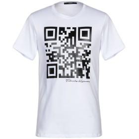 《期間限定セール開催中!》TAKESHY KUROSAWA メンズ T シャツ ホワイト S コットン 100%