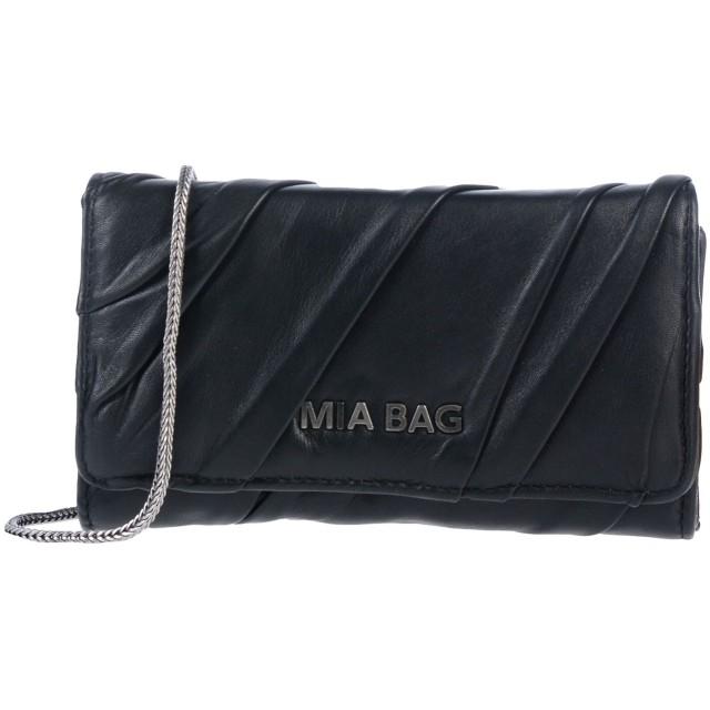 《セール開催中》MIA BAG レディース ハンドバッグ ブラック 革
