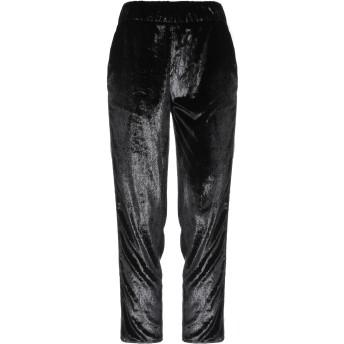《セール開催中》JIJIL レディース パンツ ブラック 40 ポリエステル 100%