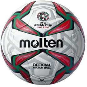 モルテン(molten) サッカーボール AFC アジアカップ2019試合球 ホワイト×レッド×グリーン 5号 F5V5003A19U 一般・大学・高校・中学校用 国際公認球 5号球