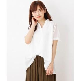 SHOO・LA・RUE / シューラルー 【2点セット】シアーチェックシャツ+タンクトップ
