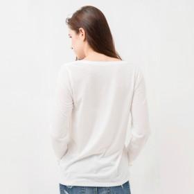 カットソー - privatebeach 刺繍入りロングロゴTシャツ