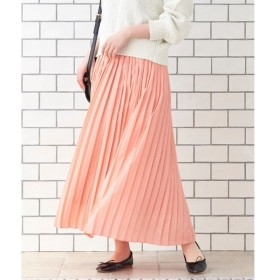 le.coeur blanc / ルクールブラン サイドプリーツマキシスカート