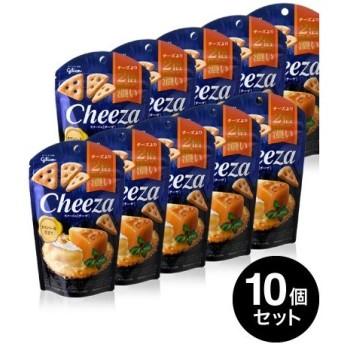 10個セット 生チーズのチーザ カマンベール仕立て/Cheeza(40g)(グリコ) 【賞味期限:2020年3月31日】